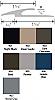 Mannington XXX710 Carpet to Resilient Transition