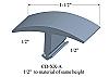 CD-XX-A Johnsonite T-Molding