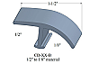 CD-XX-B Johnsonite T-Molding