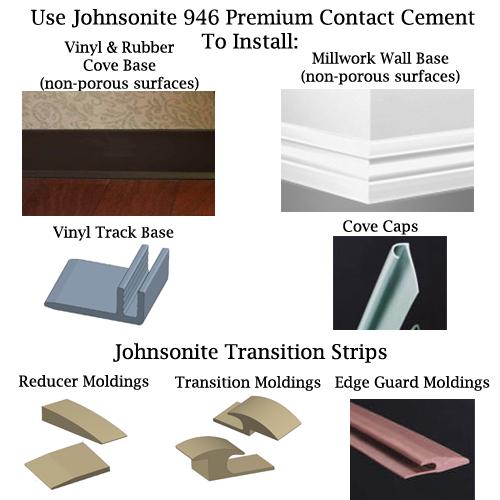 johnsonite 946 contact adhesive neoprene contact cement