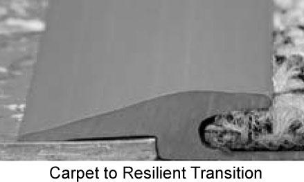 Mannington X710 Carpet To Resilient Transition