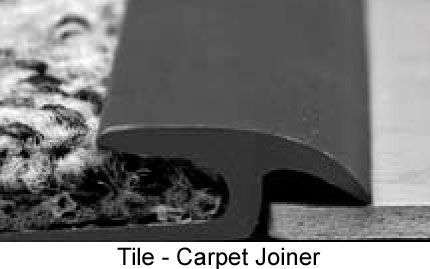 carpet joiner strip. mannington xxx150 tile-carpet joiner transition carpet strip
