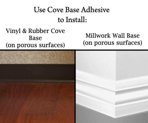 Cove Base Adhesive