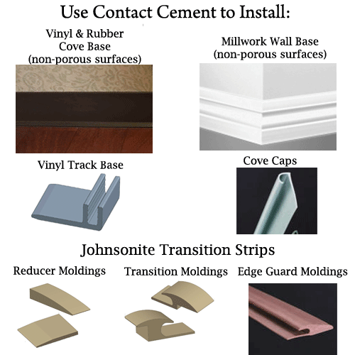 Installing Floor Transitions | Dap Contact Cement