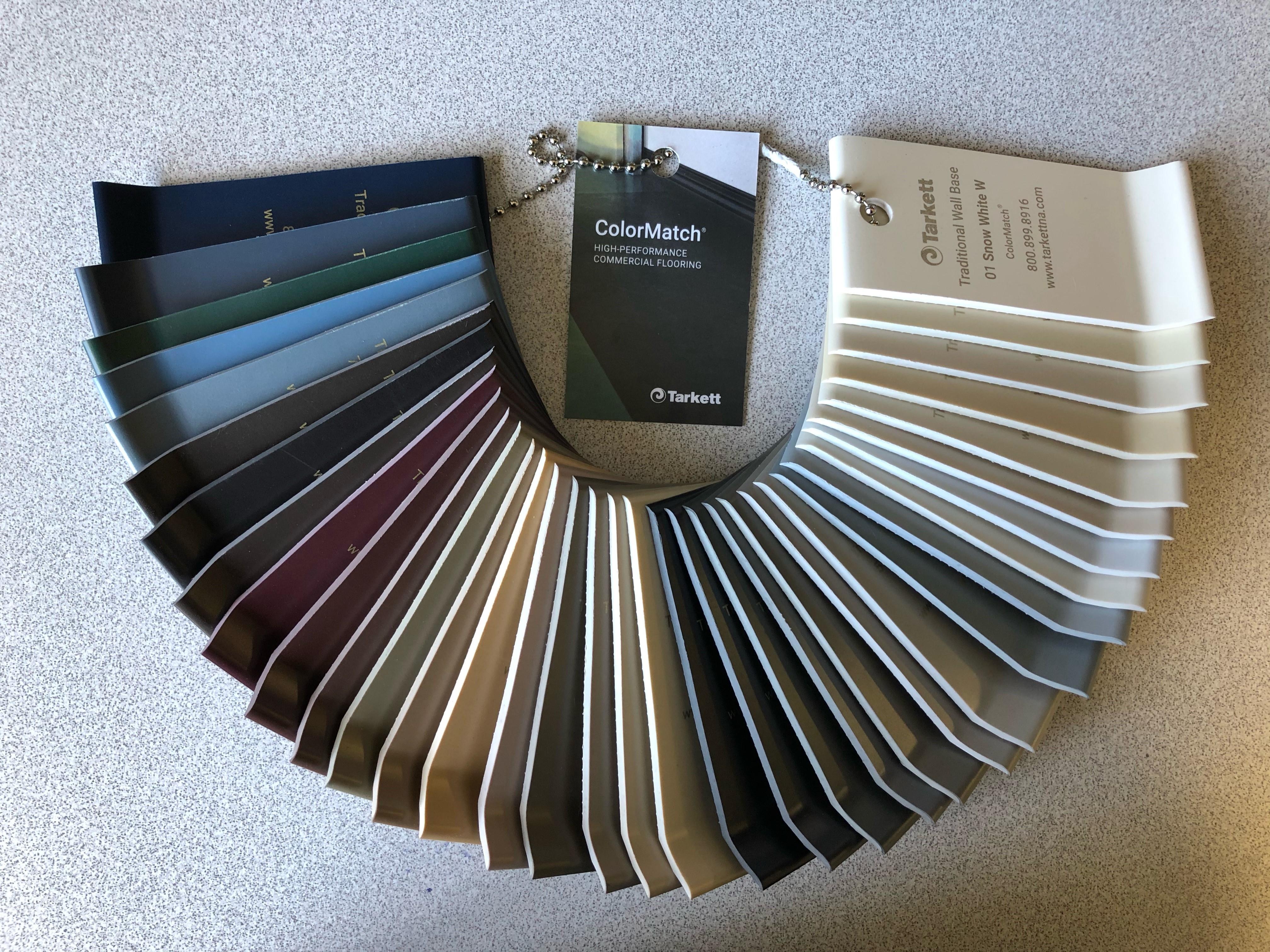 Johnsonite Color Sample Chain Set
