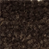 Bitter Chocolate Brown Carpet Wall Base - By the Foot\